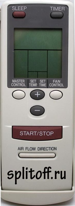 Пульт Fujitsu AR-AB9, AR-AB8, AR-AB-10, AR-BB2, AR-DB5, AR-BB2, AR-AB-24 ESC-RC-020