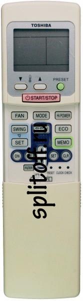 Пульт Toshiba WC-C1PE ESC-RC-024