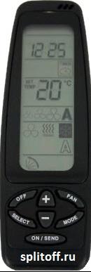 Пульт Tadiran ZM9080  ESC-RC-040