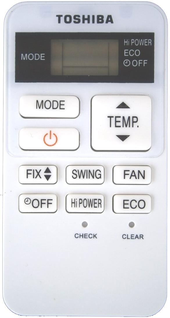 Пульт Toshiba WC-UA02NE ESC-RC-162