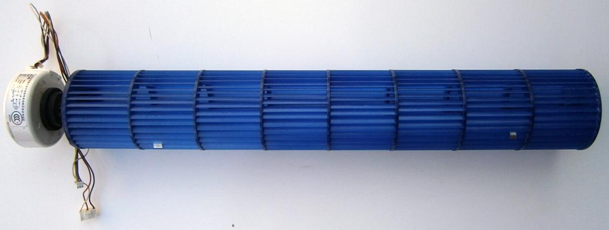 Вентилятор кондиционера (сплит-системы) внутреннего блока в сборе.